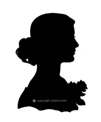 330x400 Clipart Person Silhouette Side Collection