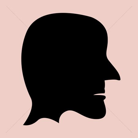 450x450 Free Side View Face Stock Vectors Stockunlimited