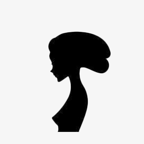 500x500 Woman Side Face, Plate Hair, Girl, Thin Png Image And Clipart