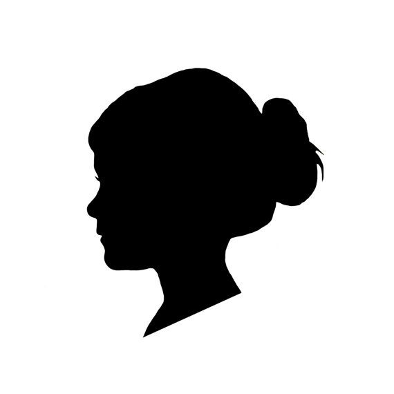 570x570 Mothers Day 8x10 Custom Vinyl Silhouette In Black Of Your Child