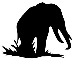 282x230 Animal Silhouette, Silhouette Clip Art