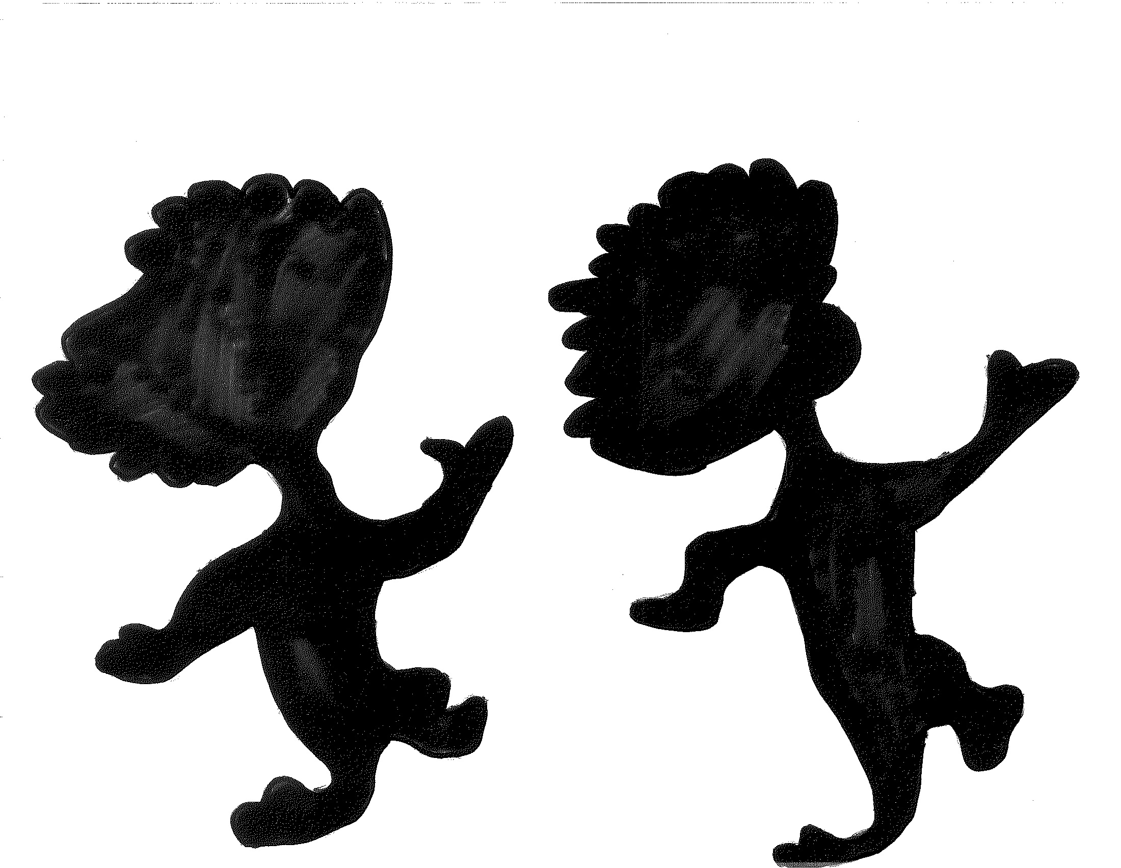 2200x1704 Thing 1 Amp Thing 2 Silhouette Dr. Suess Silhouettes