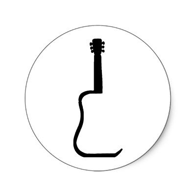 400x400 Guitar Silhouette Inspirations Board Guitars