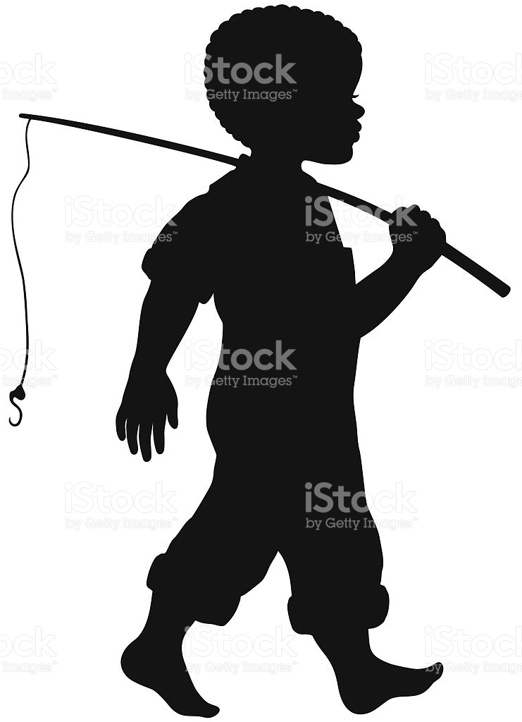 741x1024 Fisherman Clipart African American