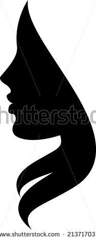 189x470 Female Silhouette Clipart Strong Collection