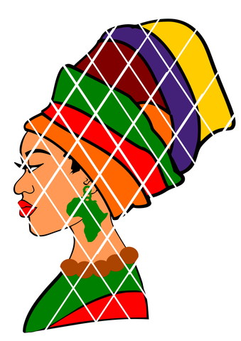 339x479 Afro Svg Cut Files Tagged Silhouette Cut File Pouidesigns