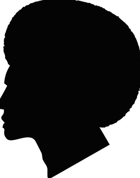 478x609 Man, Gentleman, Afro, Guy, Fro, Silhouette, Black, Head, Outline