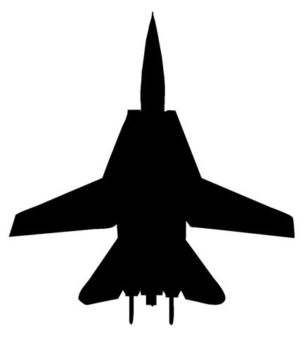 Silhouette Aircraft at GetDrawings com | Free for personal
