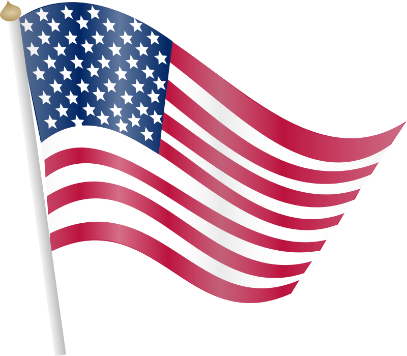 silhouette american flag at getdrawings com free for personal use rh getdrawings com free american flag clip art vector free waving american flag clip art