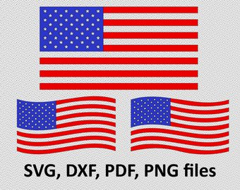 340x270 Usa Flag Svg File Etsy