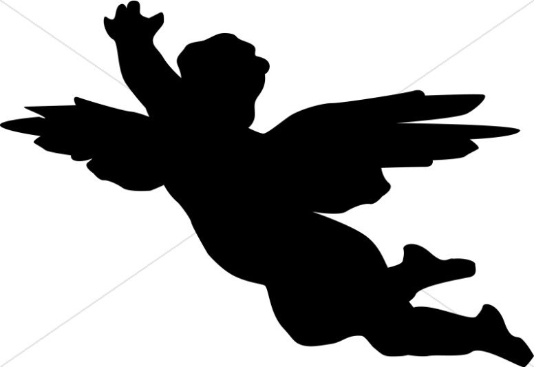 776x533 Cherub Clipart Black And White Angel Clipart