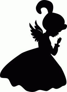 218x300 Angel Silhouette