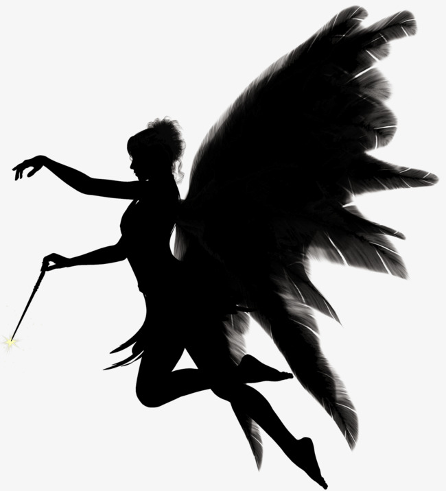 650x716 Dark Angel, Little Angel, Black, Music Png Image And Clipart