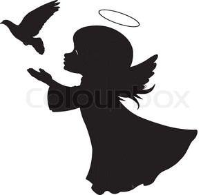 320x283 Angel Silhouette