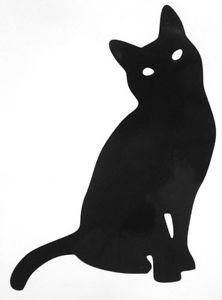 222x300 Cat Silhouette Outline Animal Car Window Vinyl Decal Sticker