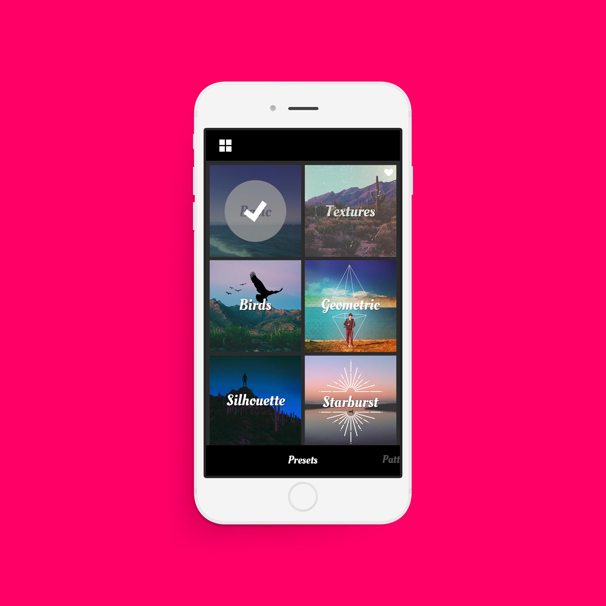 2000x2000 App Design