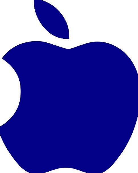 Silhouette Apple