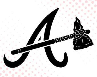 340x270 Atlanta Braves Svg Etsy