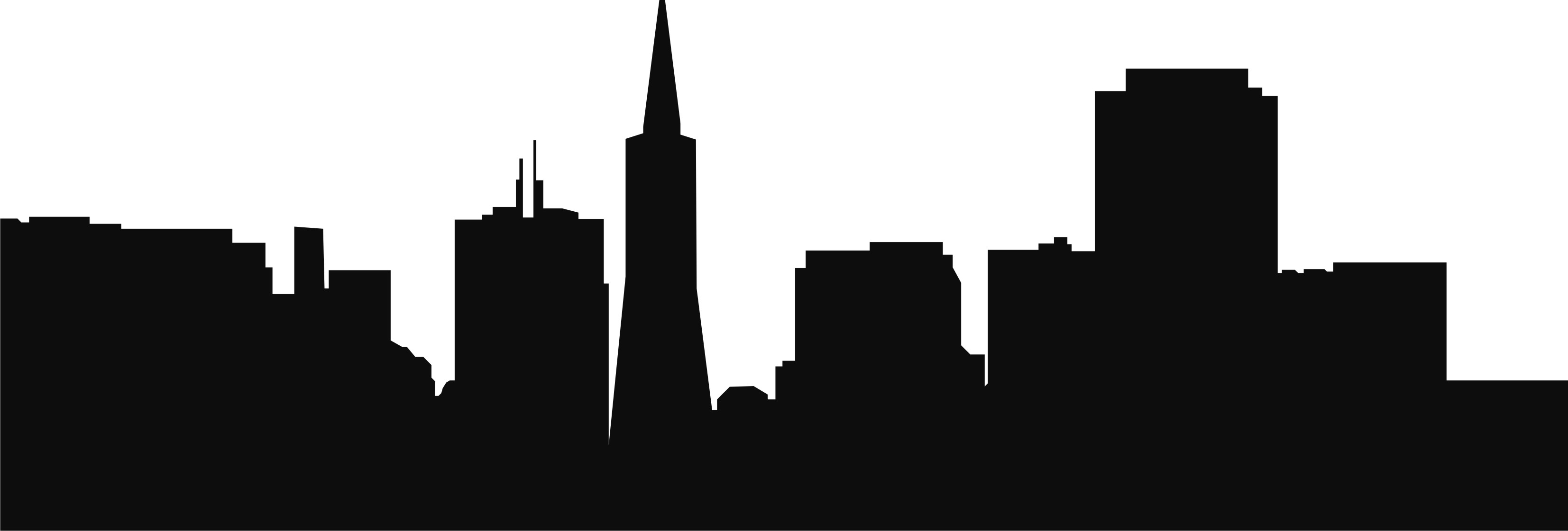 3307x1121 Atlanta Skyline Clipart For Your Project Clipartmonk