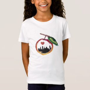 307x307 Atlanta Peach T Shirts Amp Shirt Designs Zazzle
