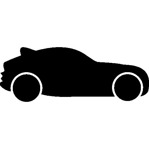 512x512 Hatchback Car, Car Silhouette, Transportation, Transport, Car