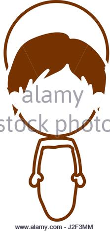 223x470 Brown Silhouette Of Child Jesus Stock Vector Art Amp Illustration