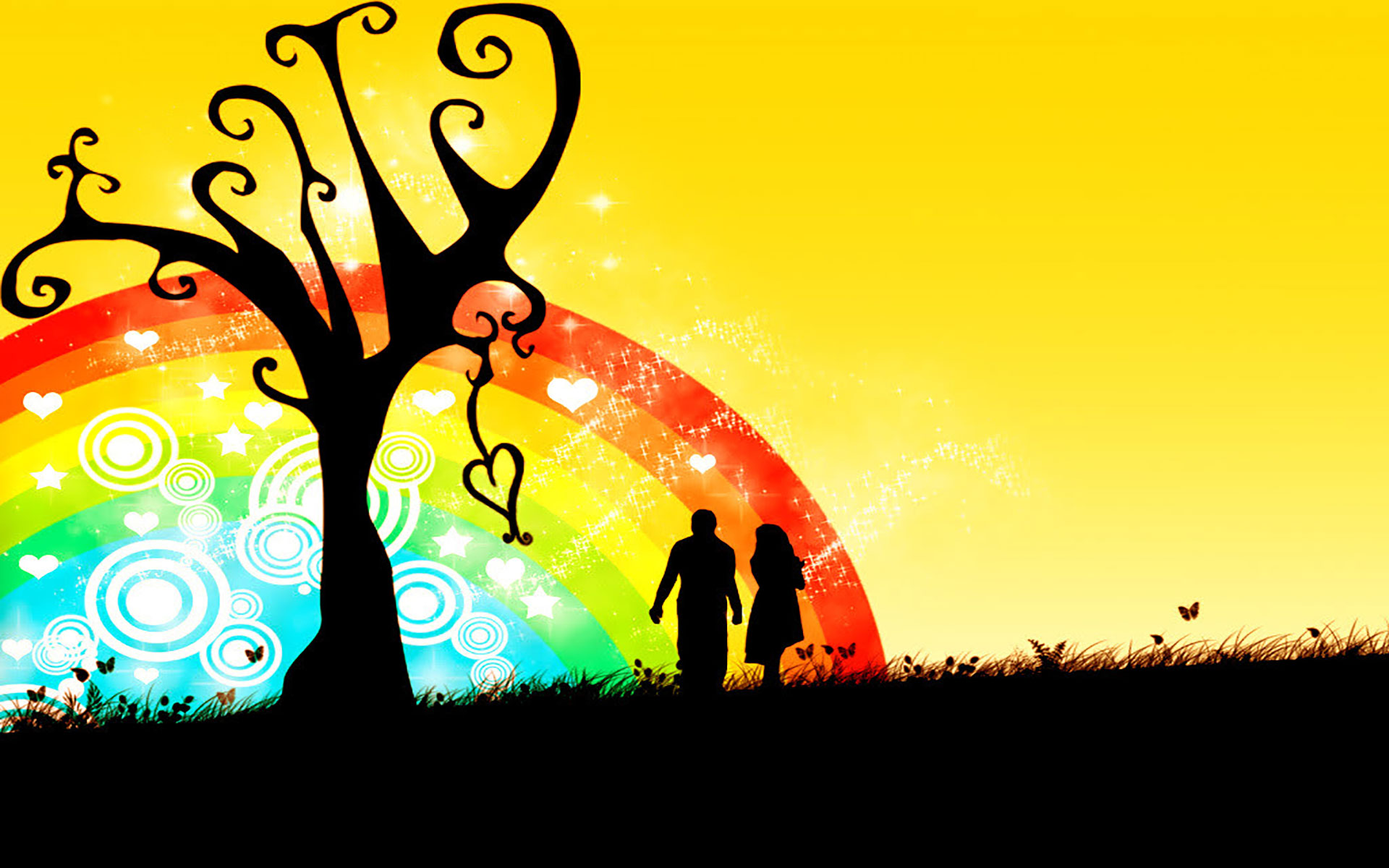 1920x1200 Silhouette Of Couple Holding Hands Dancing Couple Silhouette