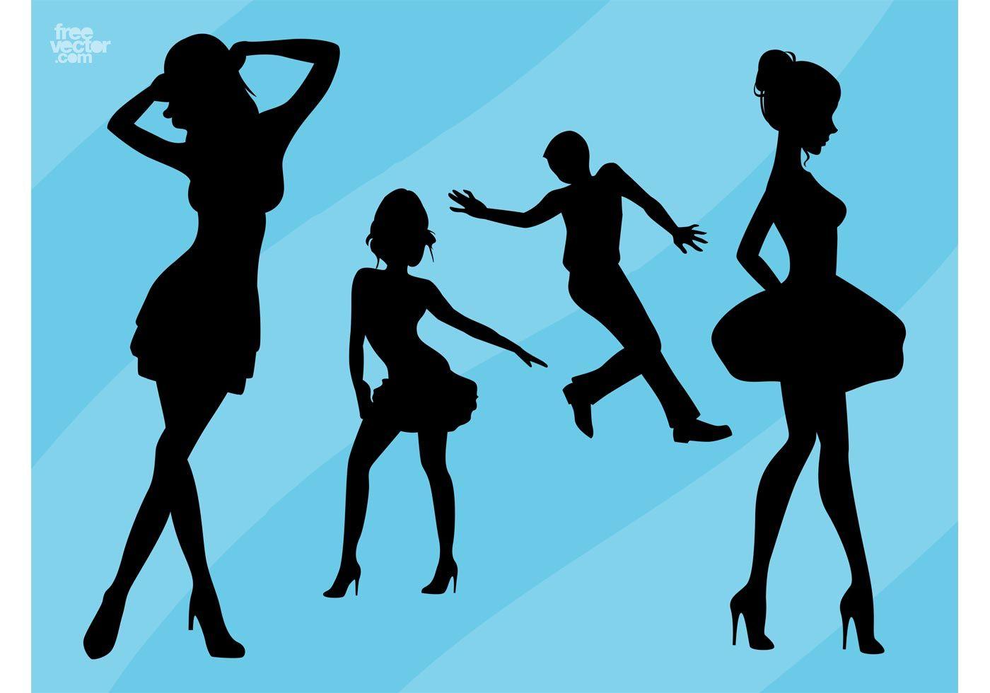 1400x980 Dance Silhouettes School Dance Silhouette