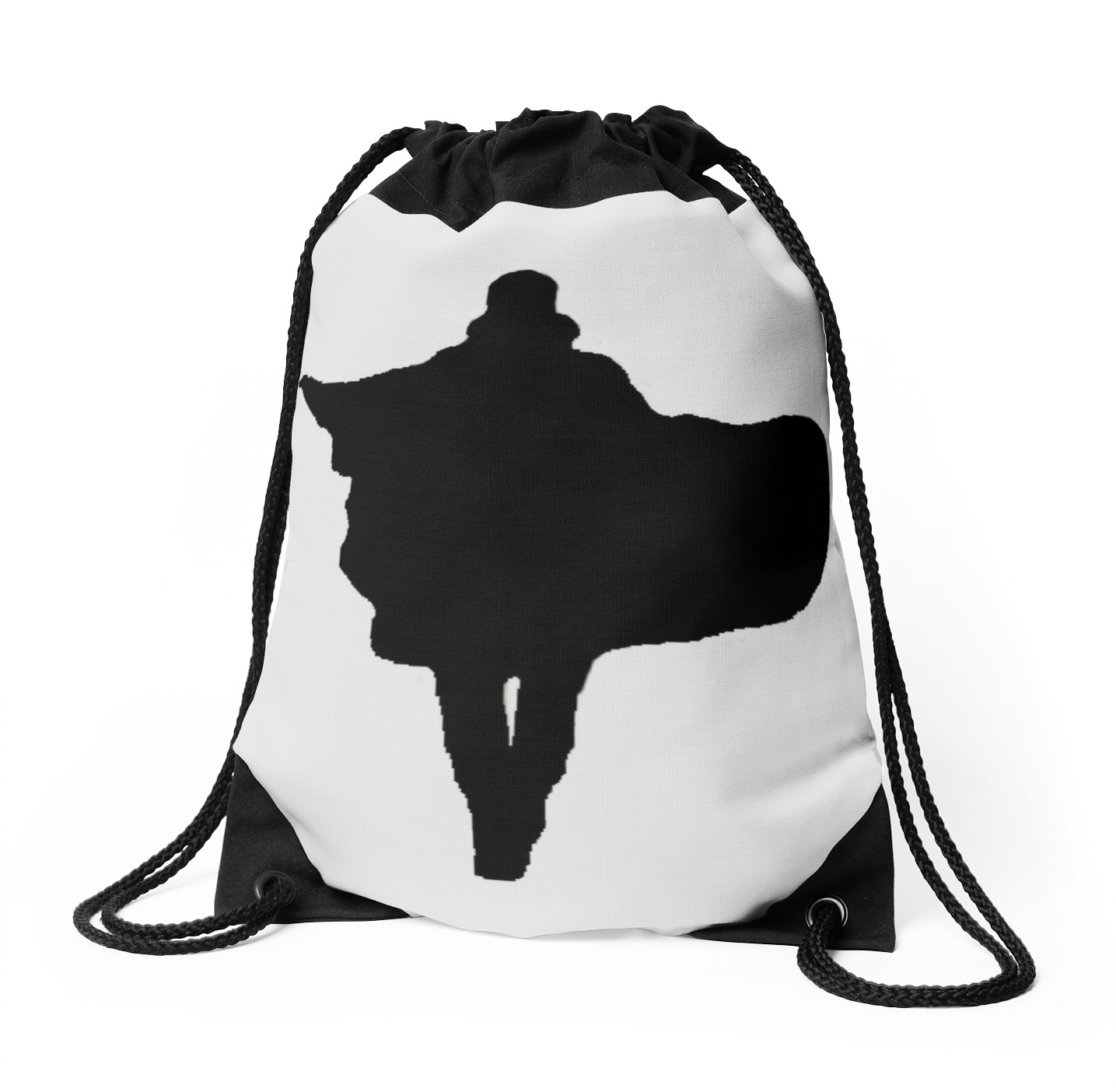 1435x1404 Doctor Strange Silhouette Drawstring Bags By Lichtblickpink