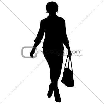 340x340 Image 7476032 Silhouette Of People Carrying Bag Luggage On White