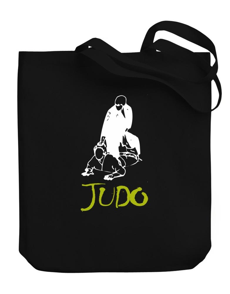 783x1000 Judo Silhouette Canvas Tote Bag