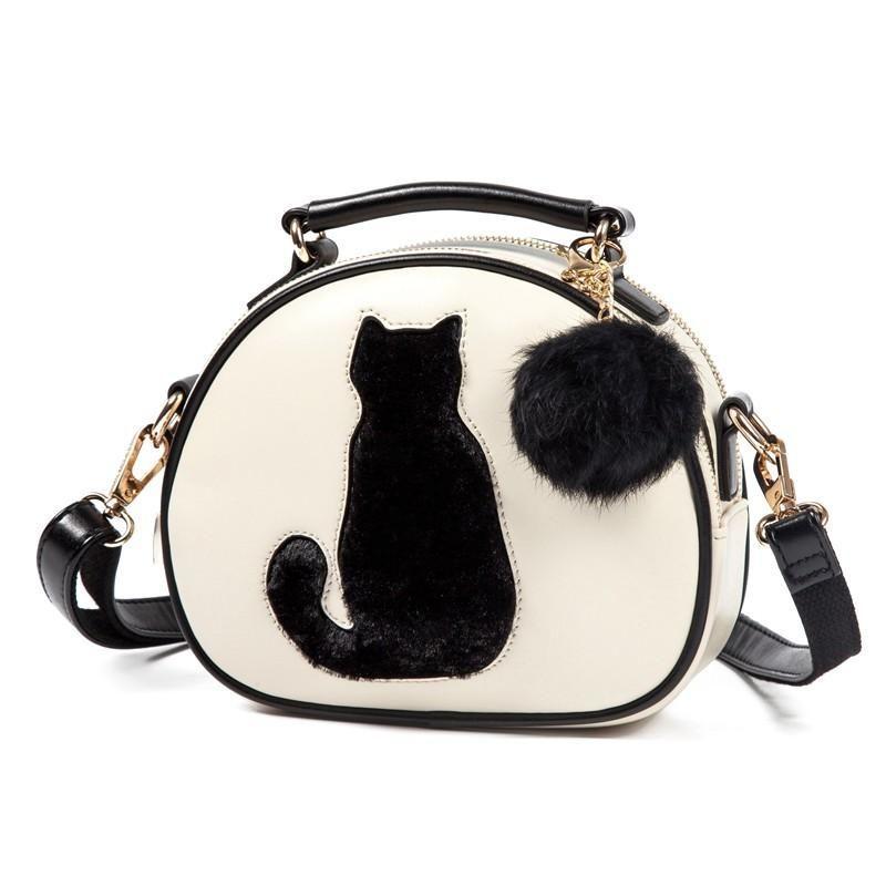 800x800 Cat Silhouette Handbag