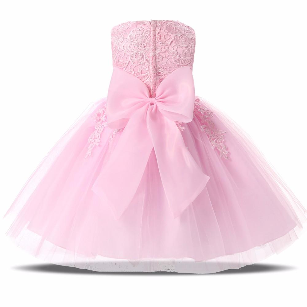 1000x1000 2018 Pink White Tutu Lace Wedding Gown Dresses Baby Girls Baptism