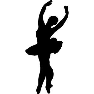 300x300 Dancer Silhouette Clipart