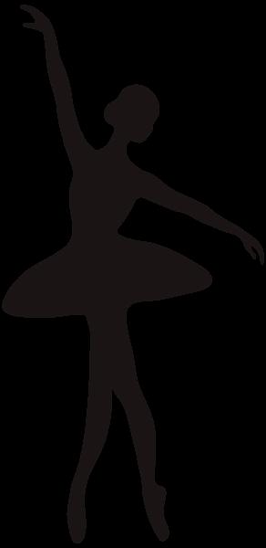 292x600 Ballerina Silhouette Png Clip Art Image Clip Art