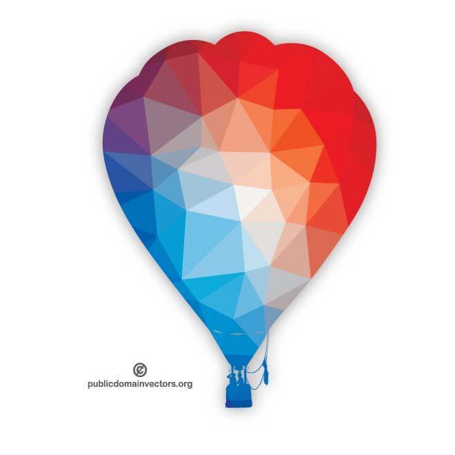 660x660 Hot Air Balloon Silhouette