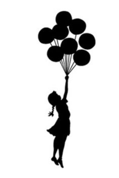 236x354 Balloons, Maybe Berries Banksy, Tattoo And Girls