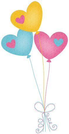236x458 Heart Balloons Clip Art Balonne Heart Balloons
