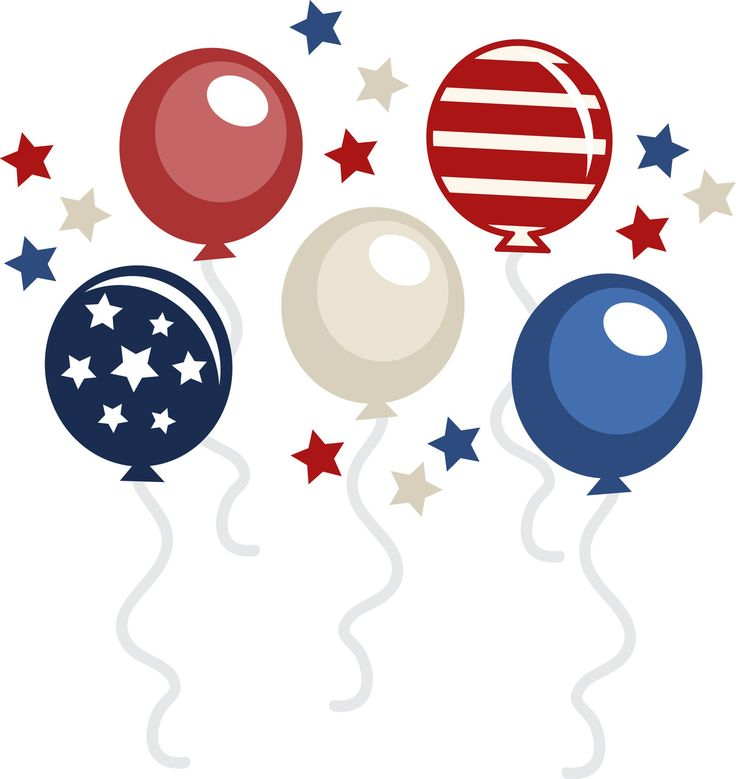 736x779 Balloon Clipart 4th July