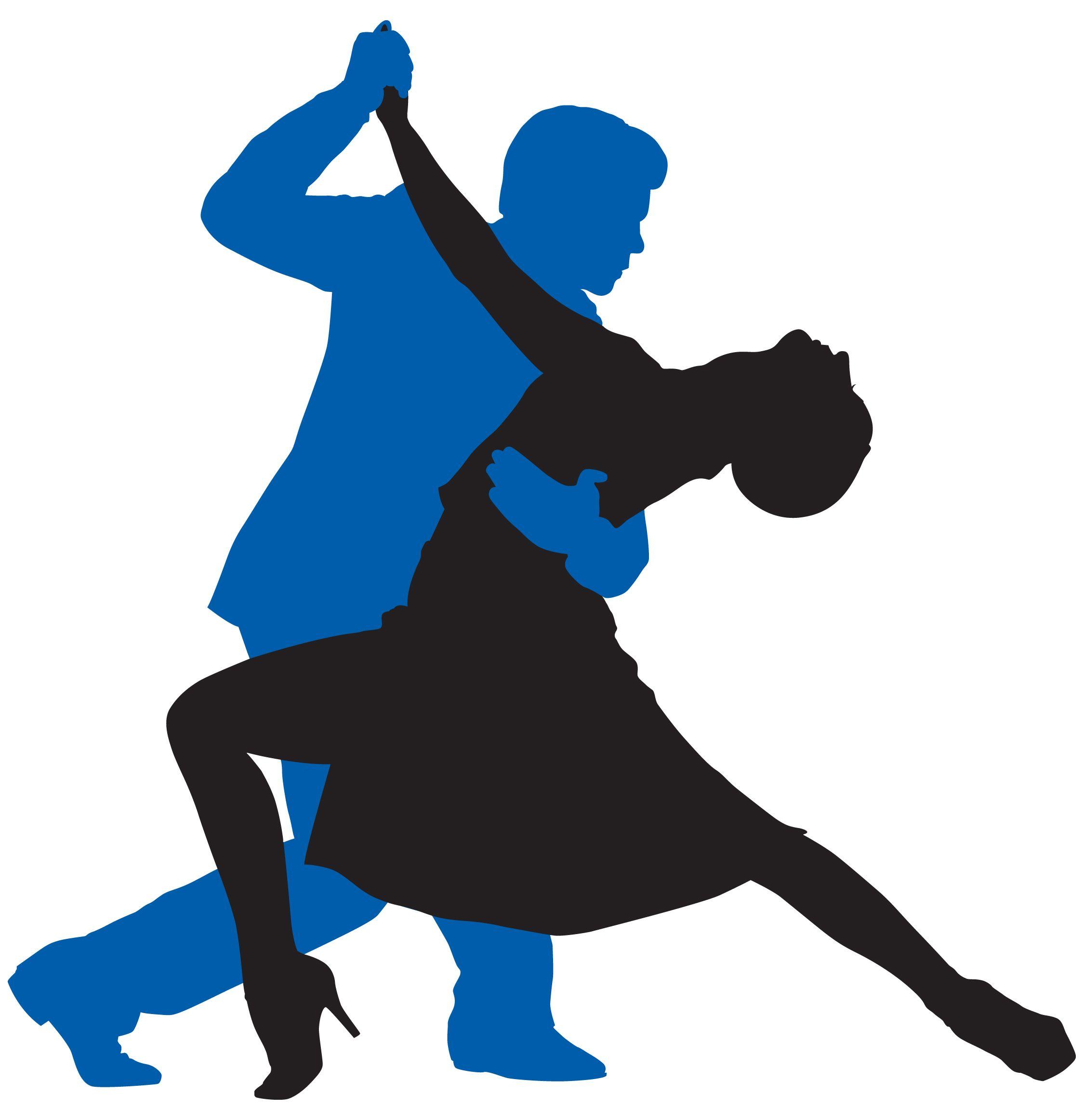 2250x2325 Dancefloor Men Lead, Ladies Follow Dancer Silhouette, Dancers