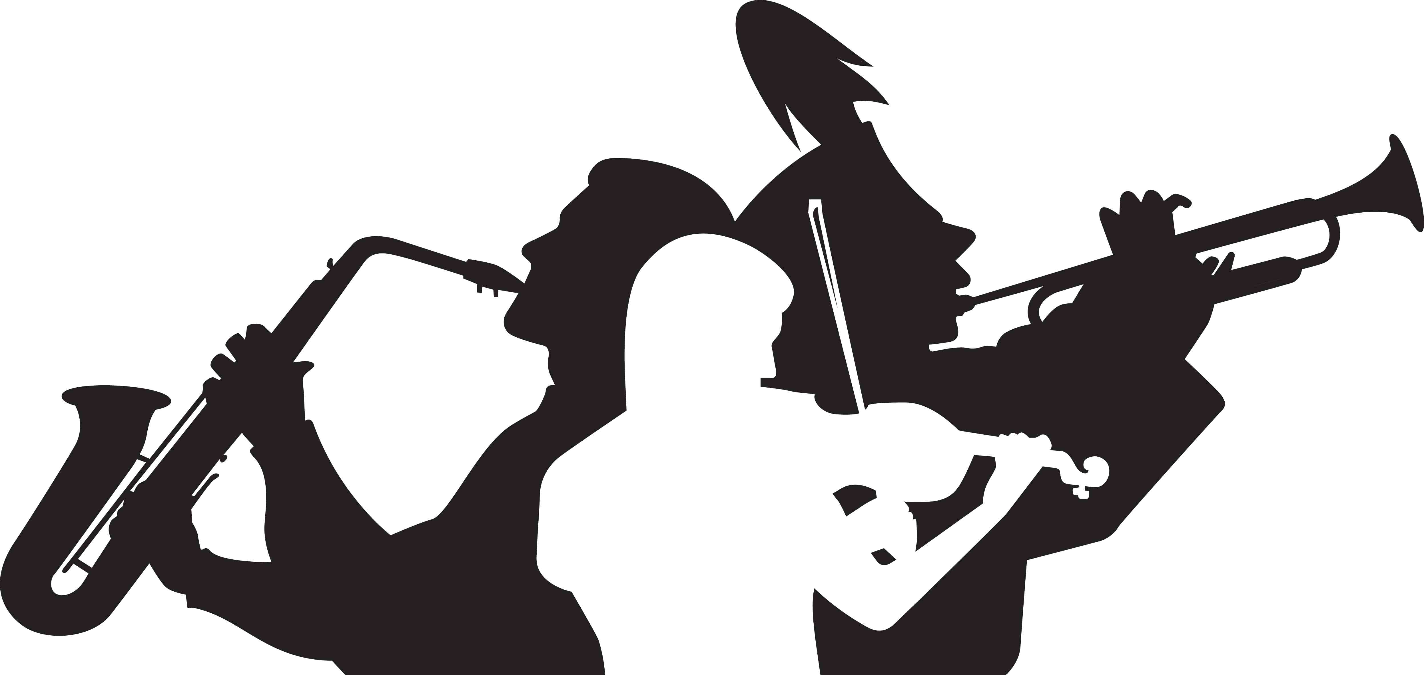 4986x2365 Silhouette Marching Band Drummers
