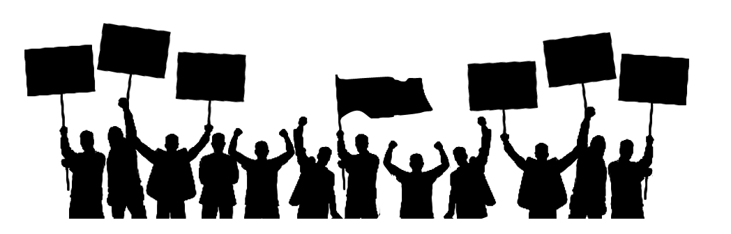 1048x336 Silhouette People Holding Banners Png By Khaleeqxaman