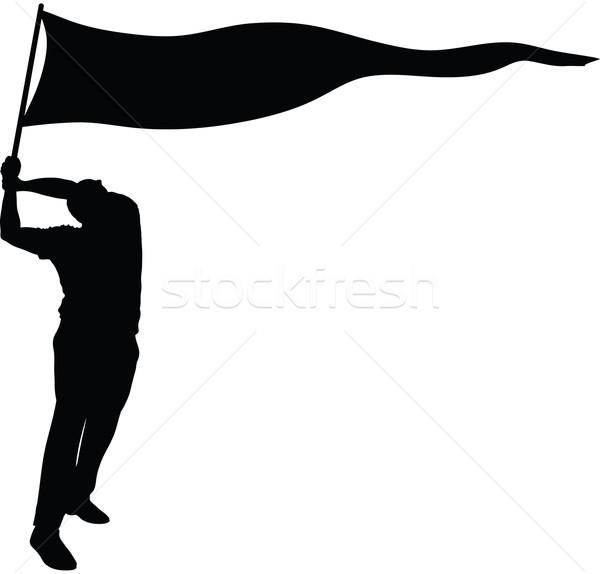 600x574 Banner Flag Silhouette Vector Illustration Brett Lamb (Blamb