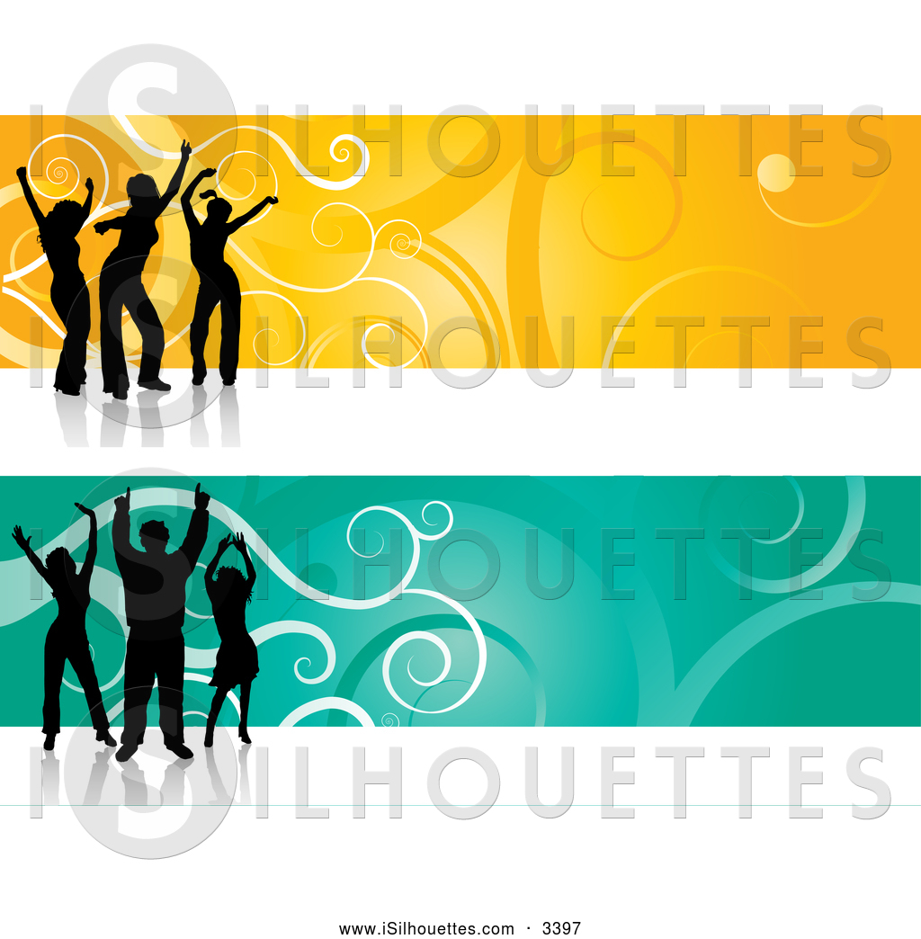 1024x1044 Silhouette Clipart Of A Pair Of Green And Yellow Website Header