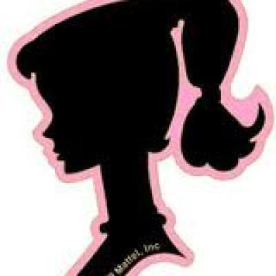400x400 Barbie Silhouette Birthday Party Tip Junkie