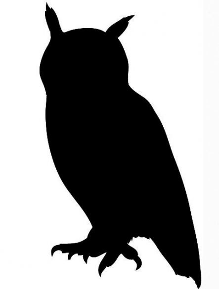 443x586 Flying Owl Silhouette Clipart Panda