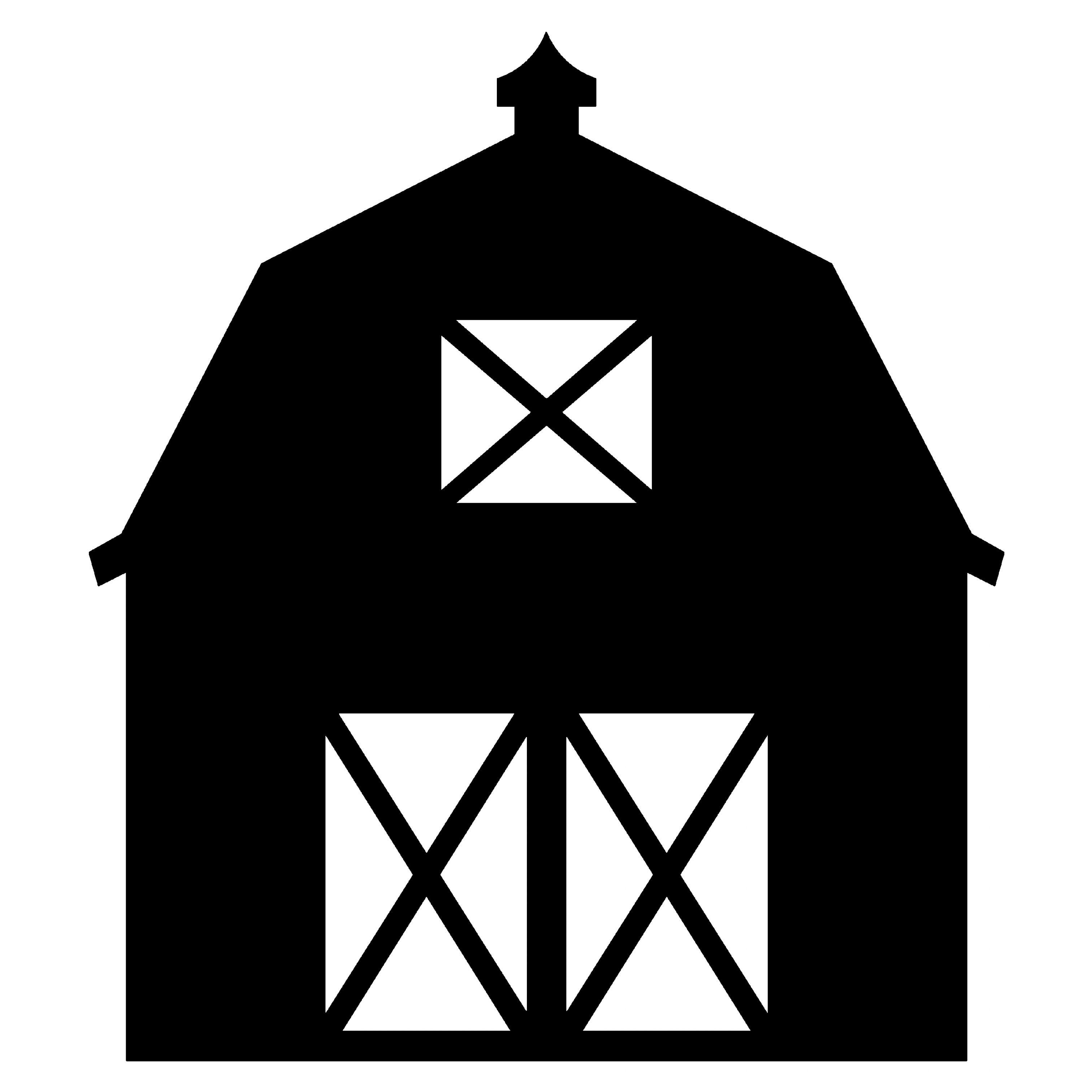 3024x3024 Barn Silhouette Clipart (Amazing Barn Silhouette Clip Art