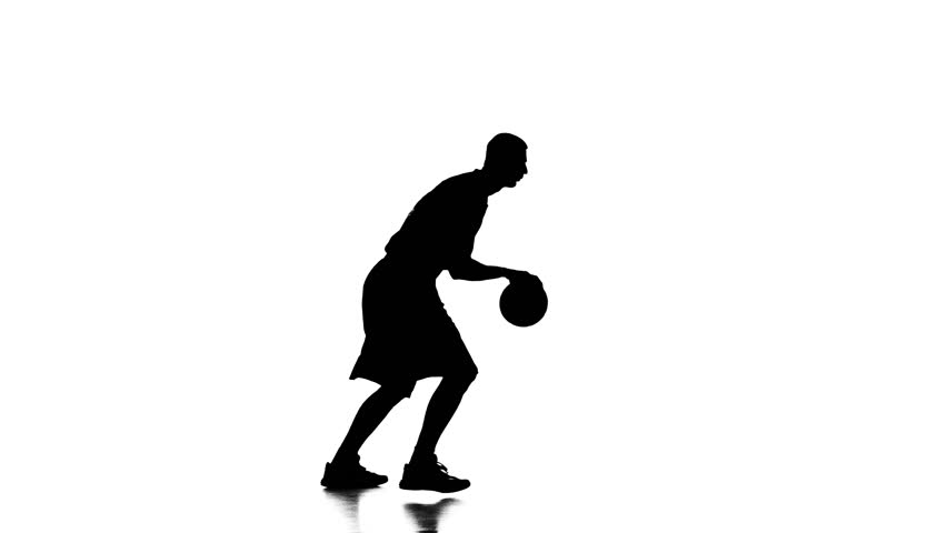 852x480 Basketball Player Spinning Passes The Ball Behind His Back