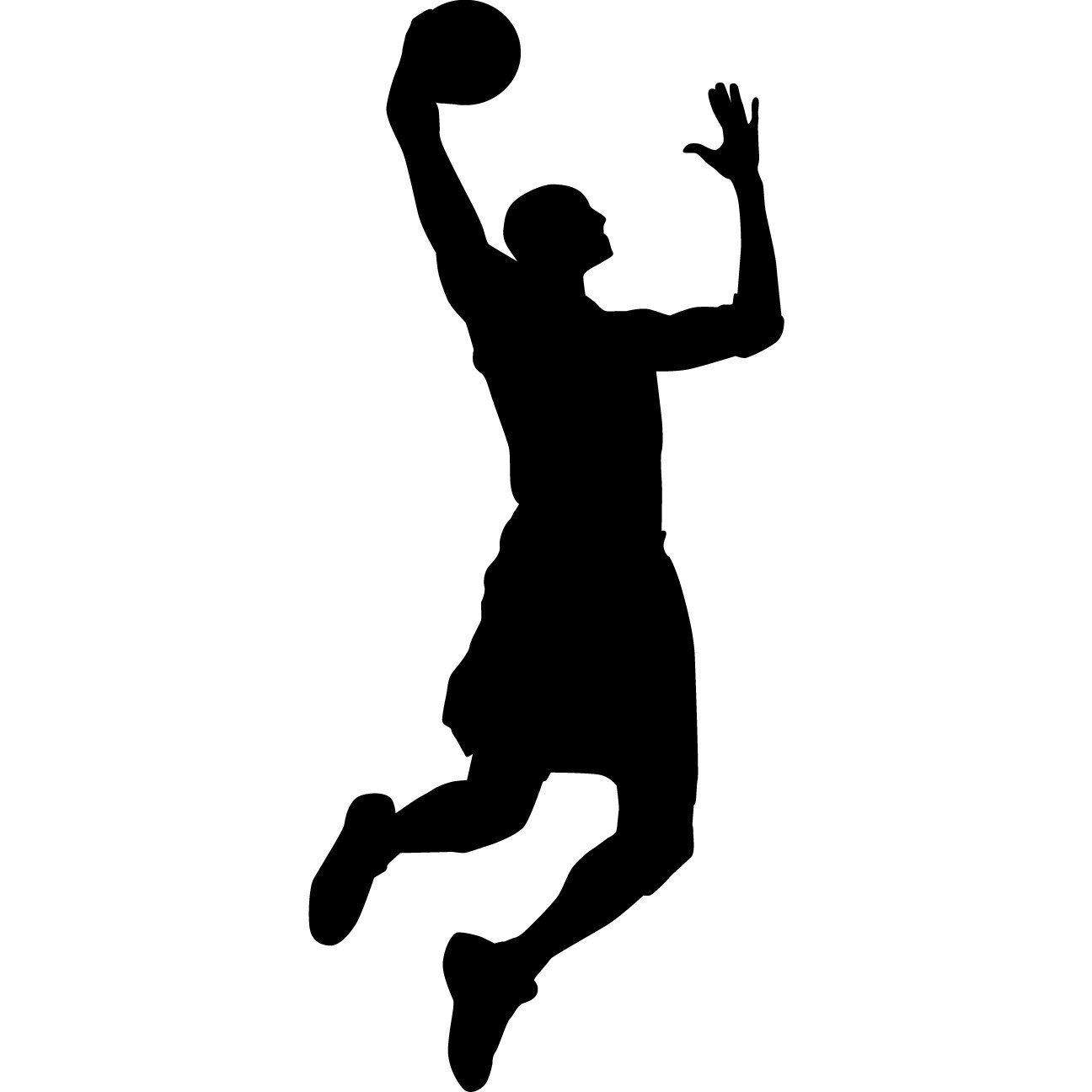 1296x1296 Basketball Silhouette