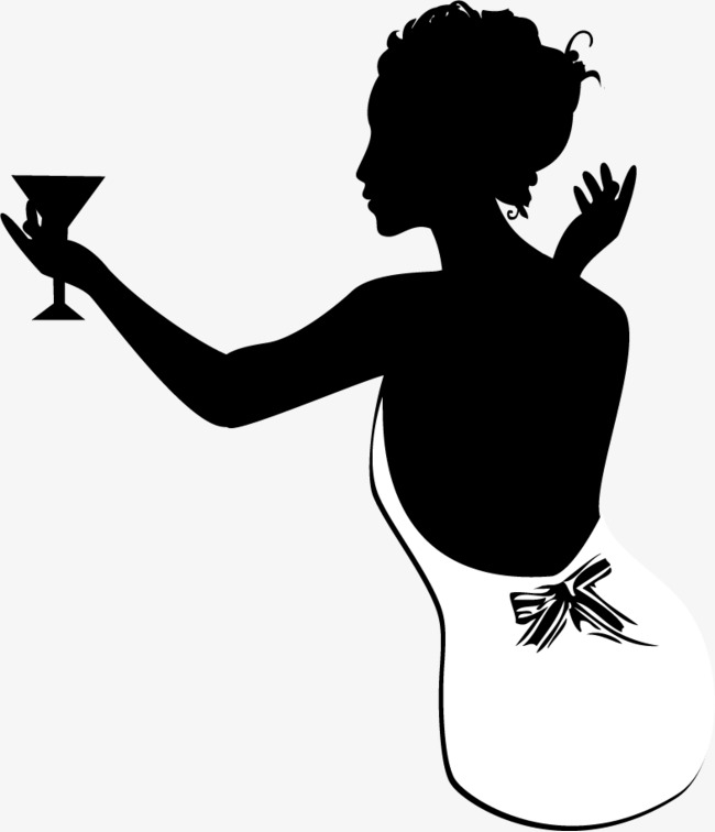 650x756 Vector Silhouette Beauty, Vector, Beauty, Sketch Png And Vector